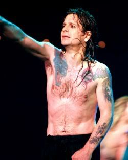 Ozzy Osbourne tattoos